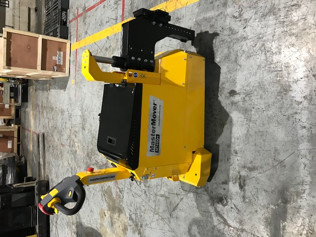 Mastermover MT400+ used in Semi-Conductor company and reduce overhead by 6 to move loads of 3Tonne. Now it is singledly handle by just 1 person.