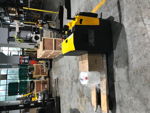 Second unit of STOCKY 2 Ton Powered Pallet Truck to customer after ultimate satisfaction on the first unit usage.