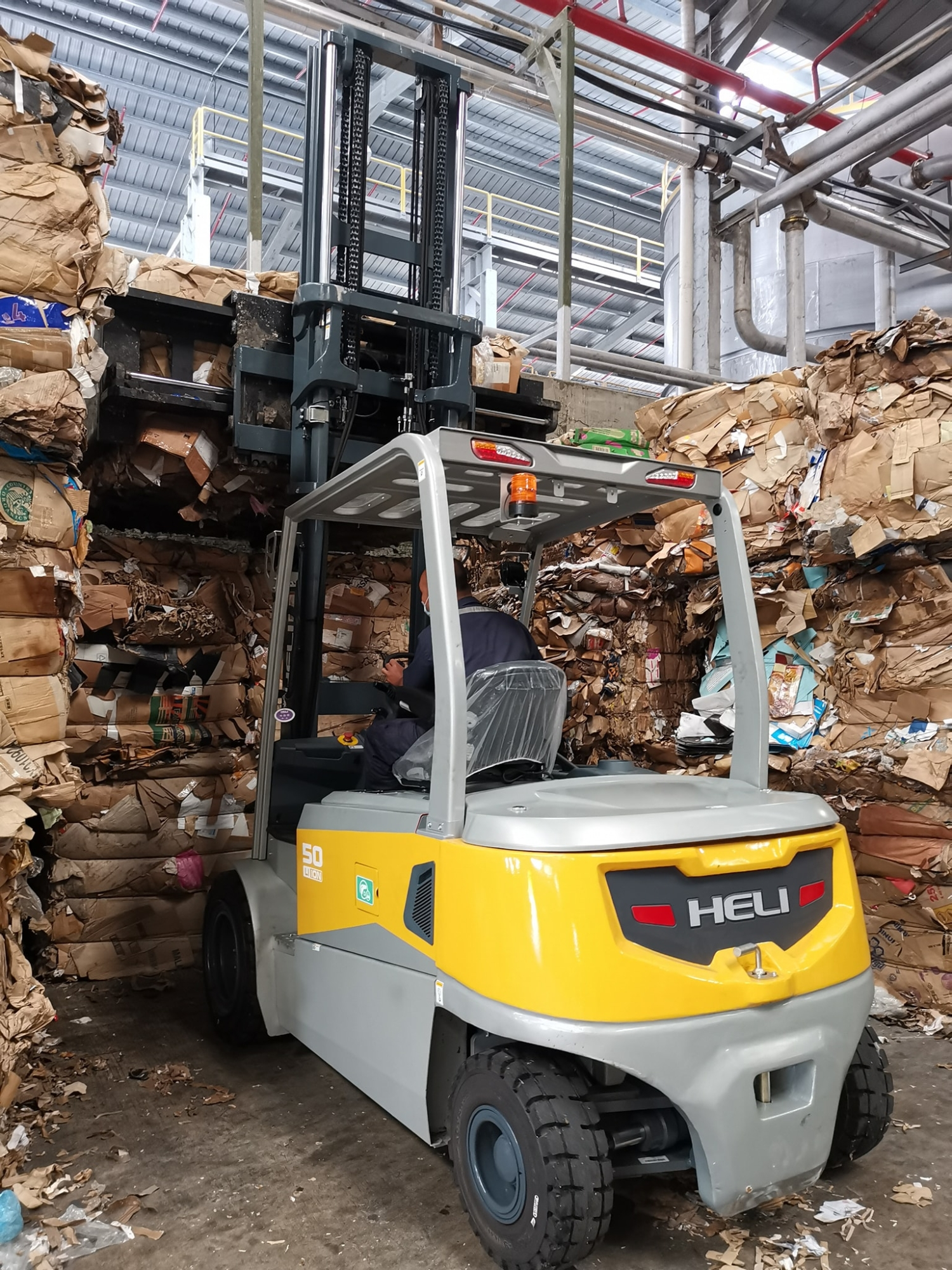 5 Ton Lithium Forklift, successfully converted an existing diesel usage customer
